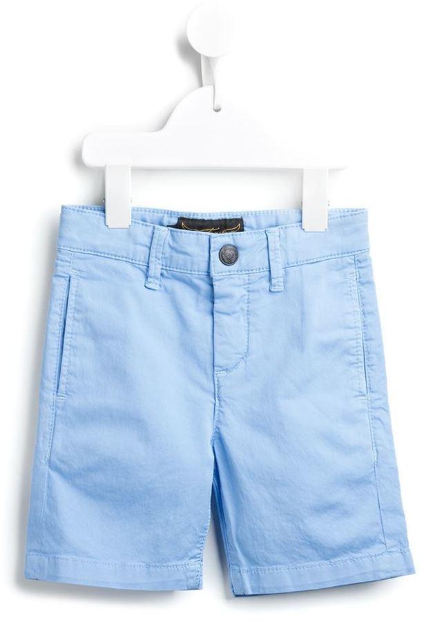 Детские голубые хлопковые шорты для мальчику от Finger In The Nose