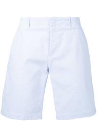 Мужские голубые хлопковые шорты от Kent & Curwen
