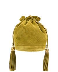 b121190c9d9c Купить женскую горчичную сумку-мешок - модные модели сумок-мешков ...