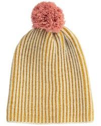 Горчичная шапка