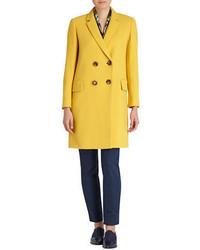 Женское горчичное пальто от Lafayette 148 New York