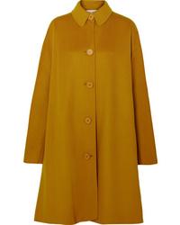 Женское горчичное пальто от Mansur Gavriel