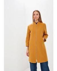 Женское горчичное пальто от Ruxara