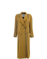 Женское горчичное пальто от Uma Wang