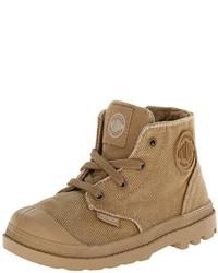 Горчичные ботинки