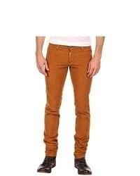 Горчичные джинсы