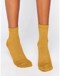 Женские горчичные носки от Asos