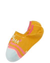 Женские горчичные носки от Stance