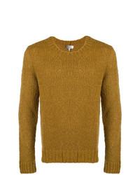 Мужской горчичный вязаный свитер от Isabel Marant