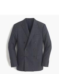 Двубортный пиджак в шотландскую клетку
