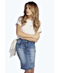 джинсовая юбка карандаш original 7881559