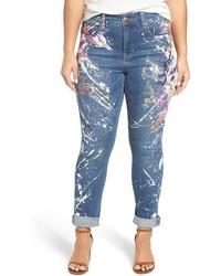 джинсы с принтом original 4227328