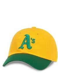 Желтая бейсболка