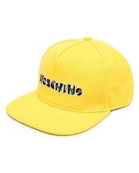Мужская желтая бейсболка от Moschino