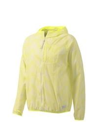 Мужская желтая ветровка от adidas