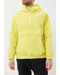 Мужская желтая ветровка от Nike