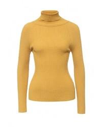 Женская желтая водолазка от QED London