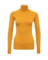 Женская желтая водолазка от Tom Farr