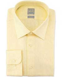 Желтая классическая рубашка