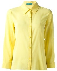Женская желтая классическая рубашка от Alice + Olivia
