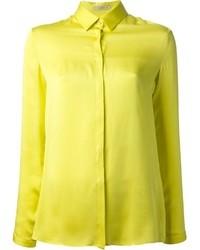 Женская желтая классическая рубашка от Etro