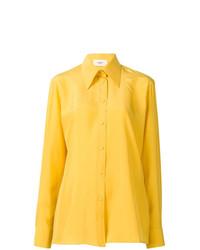 Женская желтая классическая рубашка от Ports 1961