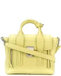Желтая кожаная сумка-саквояж от 3.1 Phillip Lim