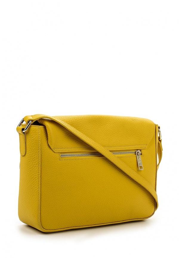 8e5ad1b7edbe Желтая кожаная сумка через плечо от Labbra, 9 890 руб.   Lamoda   Лукастик