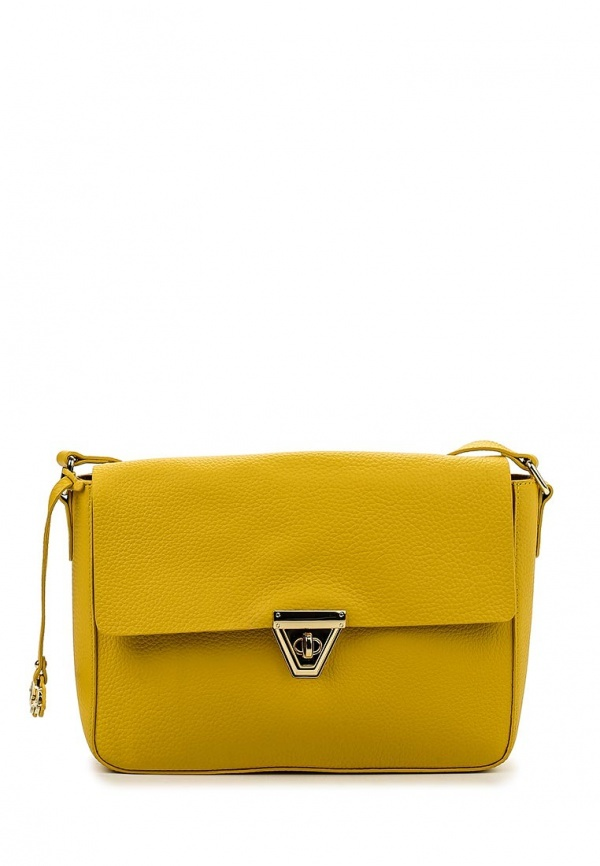 4fede8fcb90d Желтая кожаная сумка через плечо от Labbra, 9 890 руб.   Lamoda ...