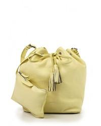 1cc7344de0e4 Купить желтую кожаную сумку через плечо Tru Trussardi - модные ...
