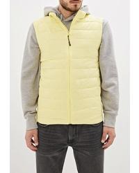 Мужская желтая куртка без рукавов от Urban Tiger