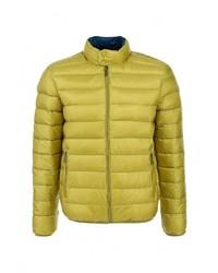 Мужская желтая куртка-пуховик от Baon