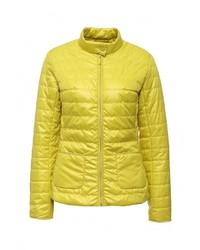 Женская желтая куртка-пуховик от Baon
