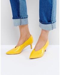Женская желтая обувь от Asos