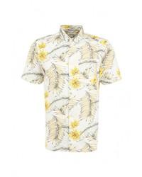 Мужская желтая рубашка с коротким рукавом от River Island