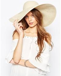 Женская желтая соломенная шляпа от Asos
