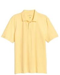 Желтая футболка-поло
