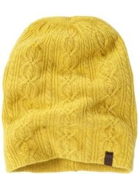 Желтая шапка