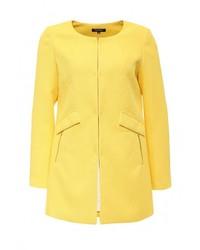 Женское желтое пальто от Morgan