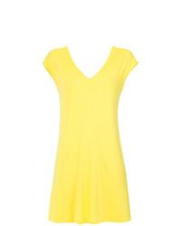 Желтое пляжное платье от Lygia & Nanny