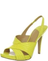Желтые босоножки | проБоты | Обувь – наша страсть