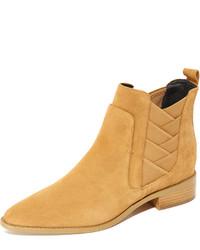 Женские желтые ботинки челси от Rebecca Minkoff