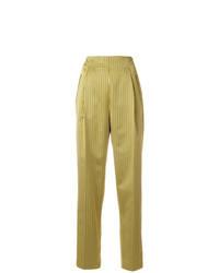 Желтые брюки-галифе