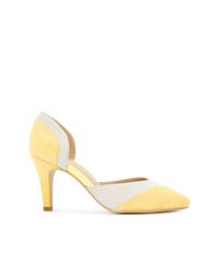 Желтые замшевые туфли от GUILD PRIME