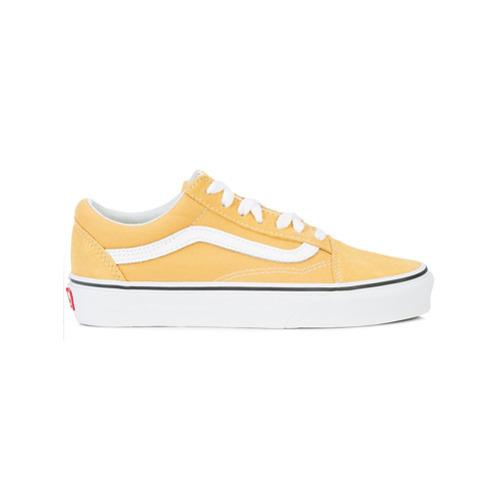 Мужские желтые низкие кеды от Vans