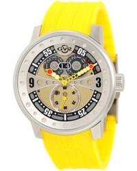 Желтые резиновые часы