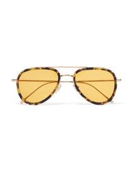 Женские желтые солнцезащитные очки от Illesteva