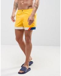 Желтые шорты для плавания от Asos