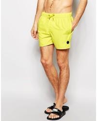 Желтые шорты для плавания от NATIVE YOUTH