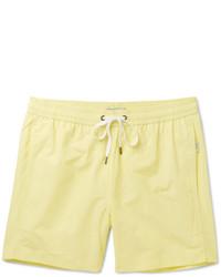 Желтые шорты для плавания от Onia